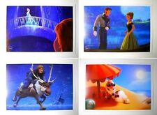 Lot of 4 Disney Pixar Exclusive Commemorative FROZEN lithographs Anna Elsa Olaf