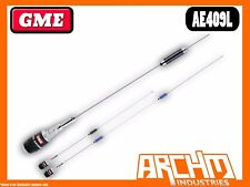 GME AE409L UHF 830/1230 MM FOLD DOWN STAINLESS STEEL 477 MHZ ANTENNA 6/9 DBI