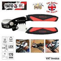 Yato Professional WIRE CABLE STRIPPER and CUTTER up to 10.5 mm 1.6-3.2mm - 170mm