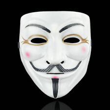 Anonymous Hacker V for Vendetta Halloween Masks Cosplay Party Fancy Dress Mask B