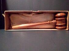 Vintage Gavel by HORN Established 1846 No. C-105 Made in U.S.A.