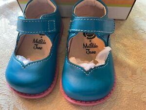 NEW Matilda Jane Livie & Luca Astrid Blue Jay Mary Jane Girls shoes Size 4
