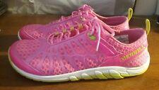 MERRELL ~  Neon Pink CRUSH GLOVE Barefoot Running SHOES ~ Women's Size 8
