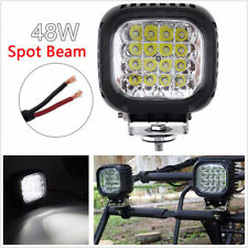 "DC10-30V 5"" 48W 4800 LM LED White Car Motorcycle Working Driving Lamp Waterproof"