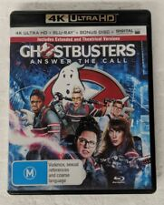 GHOSTBUSTERS: ANSWER THE CALL - 4K ULTRA HD DVD + Blu-ray All Region oz seller