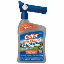 Cutter Backyard Bug Control Spray Concentrate, 32 oz
