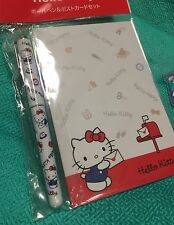 Hello Kitty postcard and ballpoint set Made in Japan Very KAWAII