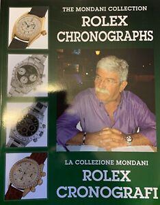 Rolex Original Daytona Chronograph Book Mondani Rare