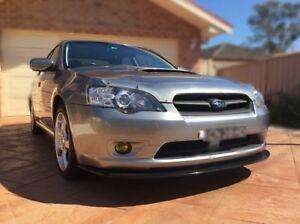 Front Lip Spoiler Urethane For Subaru Liberty GT 2003 - 2006