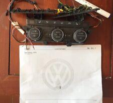 Vw Golf 7 VII Centralina Climatizzatore Pulsante Riscaldamento Sedili 5G0907044R