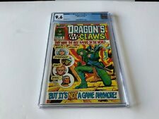 DRAGON'S CLAWS 1 CGC 9.6 WHITE PAGES BEST PLAYERS IN WORLD MARVEL COMICS 1988