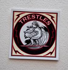 "Trestles Surfing Surfer Surf Stickers Decals 4""x4"" Epic Surf Breaks California"