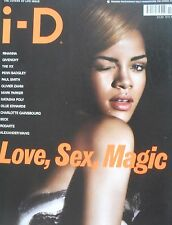 I - D MAGAZINE No 305 Rihanna BECK The XX Natasha Poly Charlotte Gainsbourg
