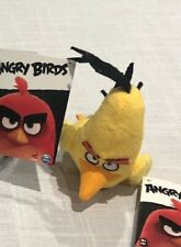Angry Birds Rovio Mobile Plush Toy Stuffed Animal Character Chuck New With Tags