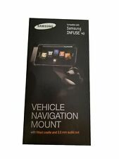 Samsung INFUSE 4G Vehicle Car Navigation Black Mount with Fitted Cradle