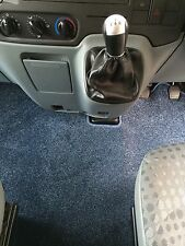 Ford Transit MK7 2007-2014 Motorhome Bespoke Cab Mat BLACK or BLUE in RHD or LHD