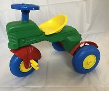 Vintage Triciclo Trattore LASER BIEMME 1980's. Tricycle Tractor Made In Italy.