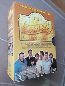 COMEDY COMPANY BEST OF VOLUMES 1 & 2 + COLIN CARPENTER CON FRUITERER DVD box set