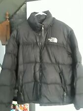 The North Face Mens Large Black Nuptse 700 Goose Down Puffer Jacket