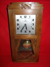 ANCIEN CARILLON VEDETTE 8 TIGES 8 MARTEAUX / HORLOGE MOUVEMENT OLD CLOCK