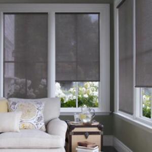 "NEW Ikea ENJE fabric window blind shade 23""W X 64""L semi sheer"
