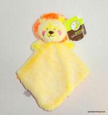 New Animal Adventure LION Baby Security Blanket Yellow Orange P57