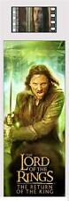 LORD OF THE RINGS Return of the King of Gondor ARAGORN MOVIE FILM CELL BOOKMARK