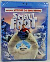 Smallfoot (Blu-ray/DVD, 2018, 2-Disc Set, Includes Digital Copy) New !