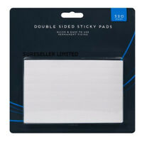 320 DOUBLE SIDED FOAM ADHESIVE STICKY PADS LABELS SQUARES RECTANGLES ART CRAFTS