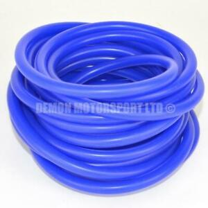 Blue Silicone Vacuum Hose Pipe - Vac Air Water Coolant (PICK CORE SIZE & LENGTH)