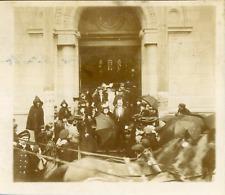 Le mariage du Lieutenant Pasdeloups à St-Dié, ca.1900 vintage citrate print Vint