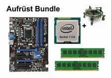 Aufrüst Bundle - MSI Z68A-G43 + Intel Core i7-2600 + 4GB RAM #143305
