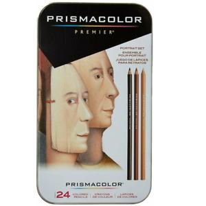 Sanford 25085R Prismacolor Premier Colored Pencils, Portrait Set, Soft Core, 24-