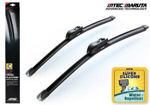 MTEC Super Water Repellent Silicone Wipers Mitsubishi Mirage Incl. G4 2014~2020