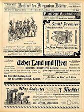 Max Sievert Stockholm Löthapparate Smith Premier Schreibmaschine O. Schwade 1902
