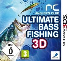 Anglers Club Ultimate Bass Fishing 3d Nintendo 3ds Courier Delivery