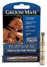 Groom Mate Platinum x-Large per naso e orecchie e tagliapeli delle orecchie