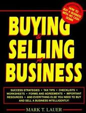Buying and Selling a Business by Mark T. Lauer (1995, Paperback)