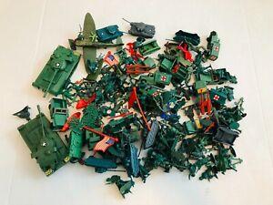 Vintage Marx Tim-Mee green plastic army men lot