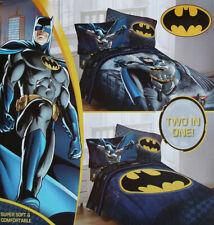 BATMAN GUARDIAN BLUE TWIN COMFORTER SHEETS 4PC BEDDING SET NEW
