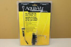 Aqua-Vu XD Trolling Fin Live Strike Kit 400-7472 New SEALED