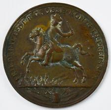 Medaille Bronze Brandenburg Preussen Friedrich II. Schlacht bei Rosbach 1757