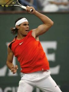 Nike Rafa Nadal Men's Indian Wells 2006 Tennis Top Shirt New Size L 143608