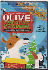 OLIVE THE OTHER REINDEER (DVD, 2000) NEW