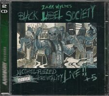 2 CDS ALBUM 18 TITRES--BLACK LABEL SOCIETY--ALCOHOL FUELED BREWTALITY--2001