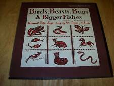 Pete Seeger RARE Birds BIGGER Fishes FC 7611 MONO A+ FREE US SHIPPING