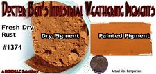 FRESH DRY RUST Industrial Weathering Pigment/Paint DOCTOR BEN'S  *NEW* nfcPR2