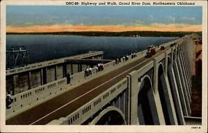 Route 66 Highway Grand River Dam Oklahoma ~ 1958 to FAYE JACKSON El Dorado KS