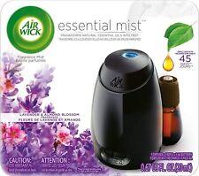 Air Wick Essential Oils Diffuser Mist Kit Lavender Almond Blossom Freshener New