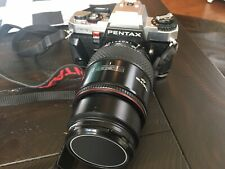 Pentax Program A Black 35mm Film Camera-Features Tested, Fresh Battery.